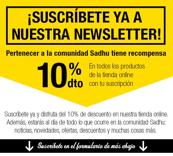 Suscríbete a la newsletter y obtendrás 10% dto